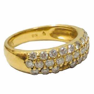 金 - メレダイヤモンド