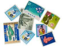 切手 - バラ切手1枚