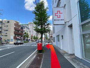 金・ダイヤ・ブランド品・時計を売るなら - 横浜市営地下鉄「上大岡」駅からの道順7