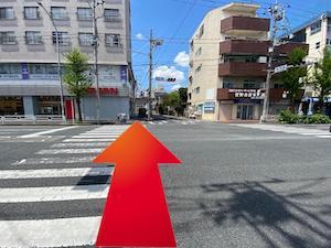 金・ダイヤ・ブランド品・時計を売るなら - 横浜市営地下鉄「上大岡」駅からの道順8
