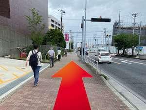 金・ダイヤ・ブランド品・時計を売るなら - 神奈川中央交通「市民文化会館前」バス停からの道順2