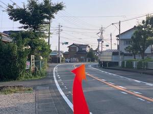 金・ダイヤ・ブランド品・時計を売るなら - 天竜浜名湖線「西掛川」駅からの道順2