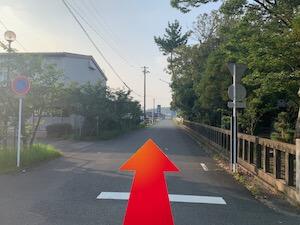 金・ダイヤ・ブランド品・時計を売るなら - 天竜浜名湖線「西掛川」駅からの道順6