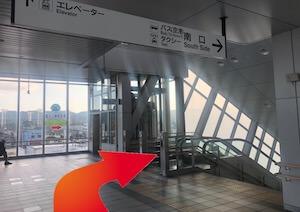 金・ダイヤ・ブランド品・時計を売るなら - JR東海道線「島田」駅からの道順2