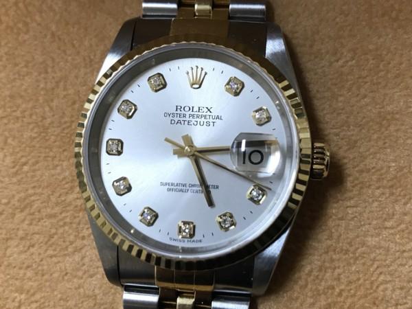 ロレックス,ダイヤ,デイトナ,クロノグラフ,オートマ,黒,ブランド,時計,売る,青葉,高価,買取